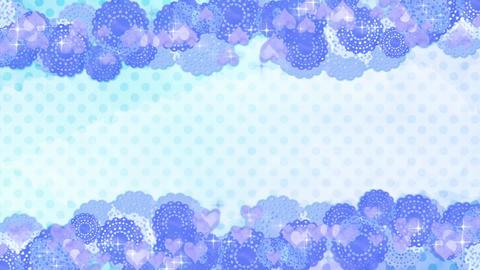 Race-blue-polka dot-2 Videos animados