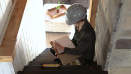 home interior stairs inspection Live Action