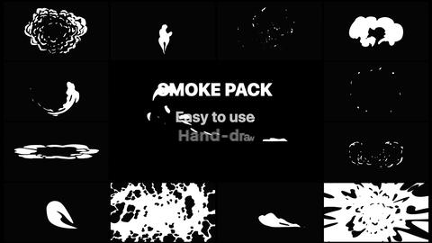 Smoke Elements Pack 04 Apple Motion Template
