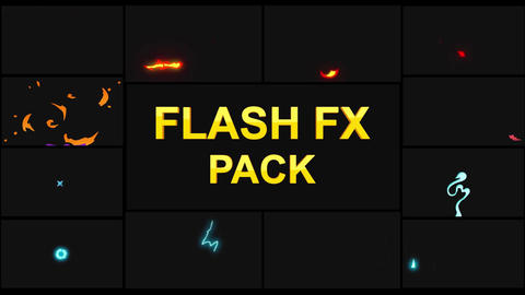 Flash FX Elements Apple Motion Template