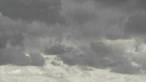 A time lapse shot of storm clouds forming Stock Video Footage