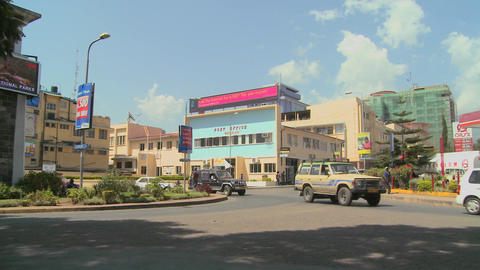Arusha, Tanzania is one of Africa's fastest growing cities Footage