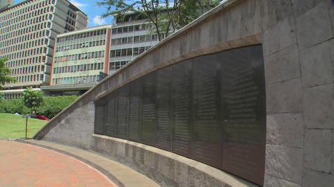 The Nairobi bombing Memorial commemorates the tragedy of August 17, 1998 Footage