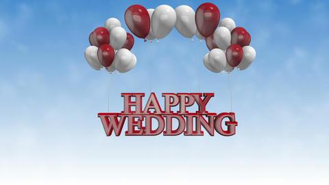 HappyWedding_ballons Animation
