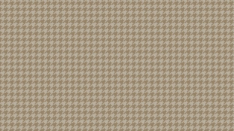 Houndstooth small pattern of brown. Seamless loop Videos animados