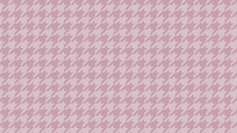 Houndstooth large pattern of pink. Seamless loop Videos animados