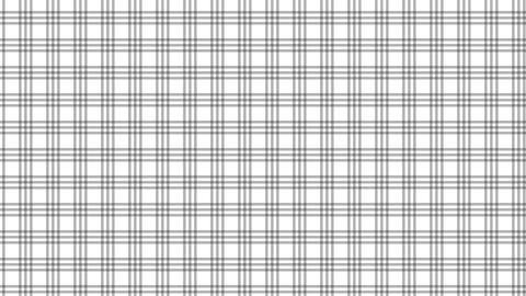 Tartan check pattern of black and white. Seamless loop CG動画