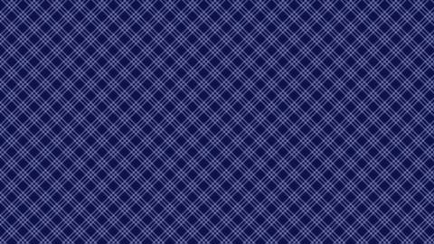 Tartan check diagonal pattern of blue. Seamless loop CG動画