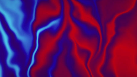 Creative Abstract Holographic Gradient Foil Liquid 4K Loop Animation Live Action