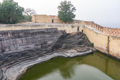 Nahargarh Step Well in Jaipur, India Photo