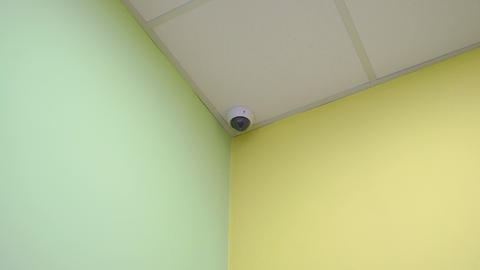Surveillance Camera Indoors Live Action