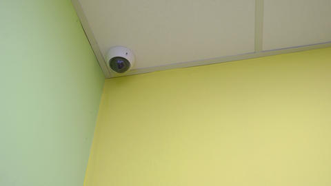 Indoors Surveillance Camera Live Action