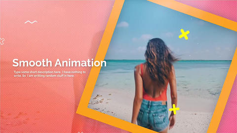Colorful Promo Apple Motion Template