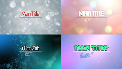 Atvn Text & Line Motion Graphics Template