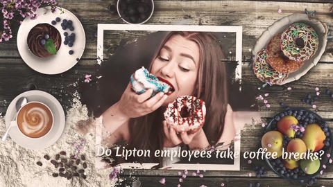 Coffee Shop Bakery After Effects Template