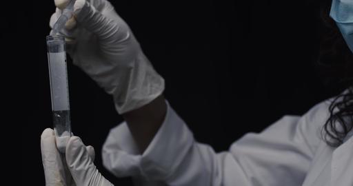 Coronavirus medical laboratory worker - Corona family viruses Live Action