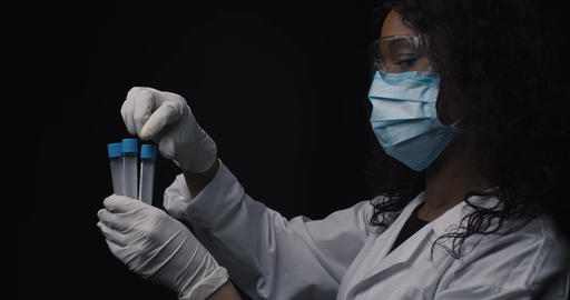 International doctor examines new pandemic vaccine Live Action