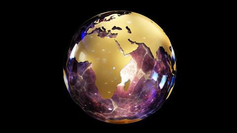 Abstract Globe Fotografía