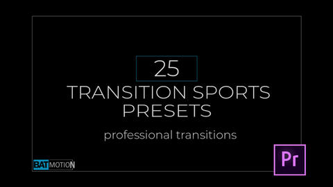 Action Sports Transitions Presets Premiere Pro Template