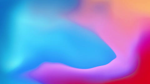 Abstract Digital Multicolor Gradient Mesh Motion Loop Animatin Background Live Action