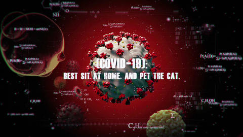 Coronavirus COVID-19 Intro After Effects Template