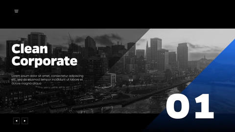 Clean Corporate - Minimalist Presentation After Effects Template