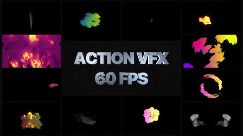 VFX Elements After Effects Template