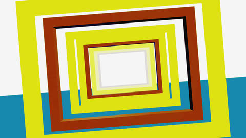 Abstract Minimal Square Retro Background Videos animados