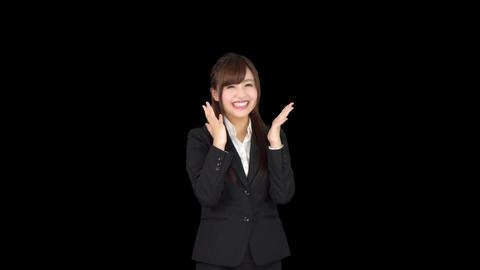フレッシュ 日本人 ビジネス 女性(OL) やる気満々 ビデオ