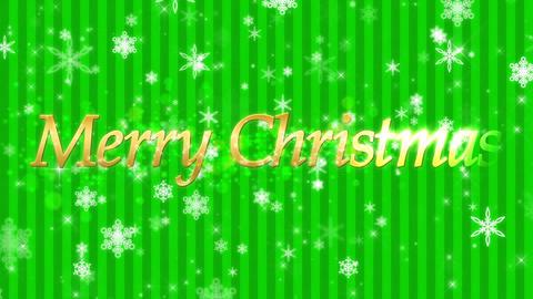 クリスマス 背景 ループ 雪 冬 イベント CG動画