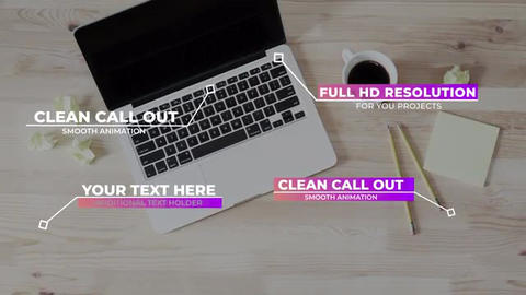 Call-out-titles After Effects Template