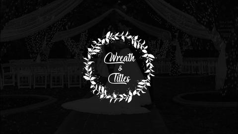 Wedding Wreath Titles Premiere Pro Template