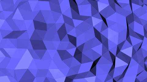 Motion dark blue low poly abstract background Animation