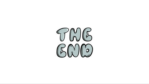 The end of the movie Animation
