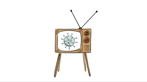 The virus and TV show Animation