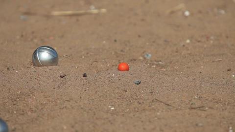 game of Petanque balls ビデオ