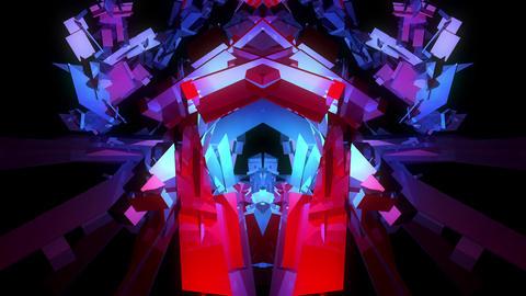 3D Transformer 4K 02 Vj Loop Animation