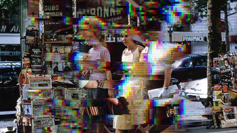 Glitch Bad TV Transitions Apple Motionテンプレート
