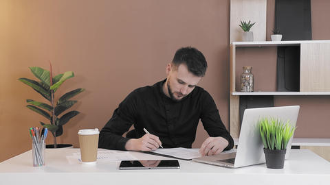 employee receives bad information from the computer and becomes depressed Live Action