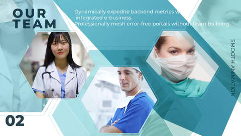 Medical Center Opener After Effects Template