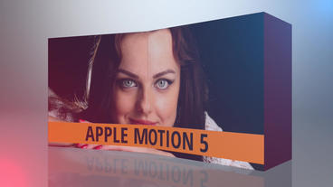 Reveal The Box Apple Motion Template