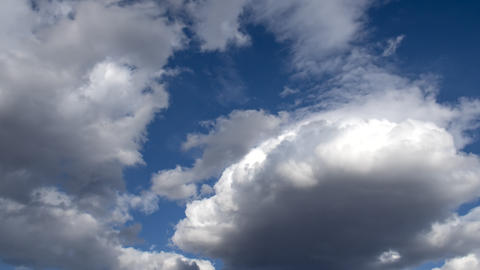 Natural sky beautiful blue and white background. Blurry blue sky and white cloud background for Live Action