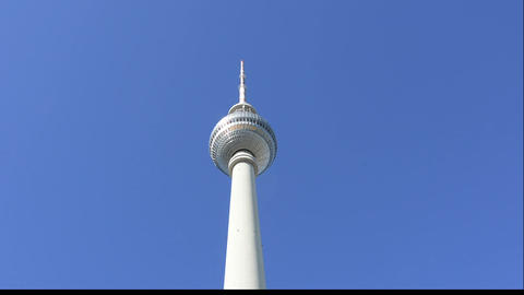 Fernsehturm tower Footage