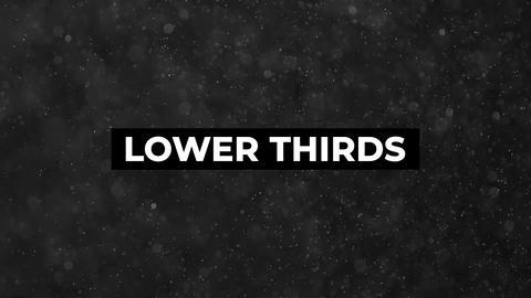 12 Lower Thirds Premiere Pro Template