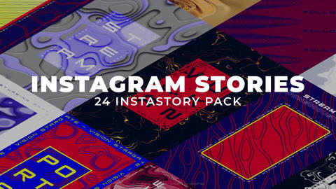 Instagram Stories Pack After Effectsテンプレート