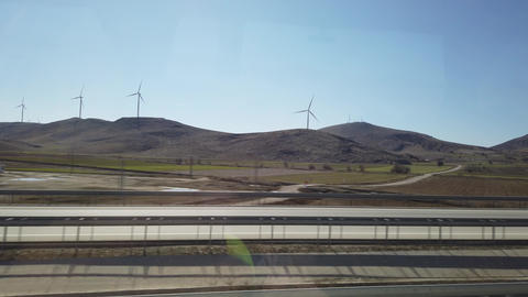 Istanbul, Turkey, 2nd of Feb 2020, use of wind turbine…, Live Action
