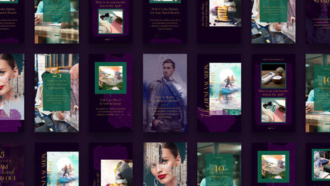Instagram Stories: Leoville After Effects Template