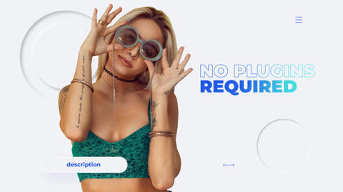 Clean Stylish Promo After Effects Template