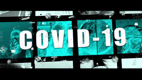 COVID-19 Pandemic Coronavirus - Horror Trailer Presentation After Effects Template
