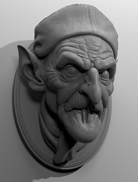 Count orlok 3Dモデル